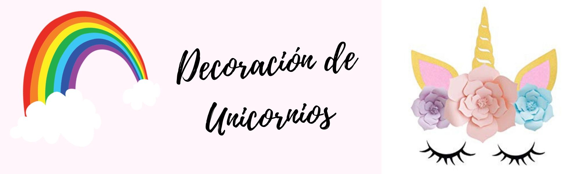 decoracion unicornio